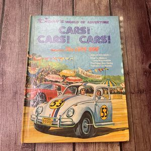 DISNEY's World of Adventure CARS! CARS! CARS! book